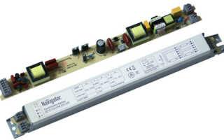 Как проверить электронный балласт для люминесцентных ламп