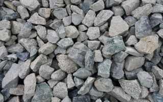 Какая фракция щебня нужна для бетона