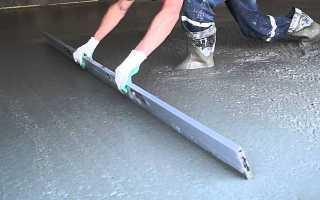 Сколько нужно бетона на 1 м2
