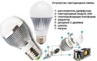 Почему моргают светодиодные лампочки при выключенном выключателе