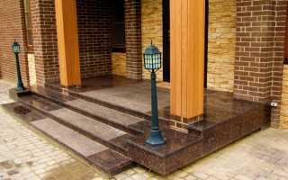 Как залить лестницу из бетона для крыльца