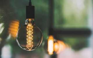 В каком году изобрели лампу накаливания