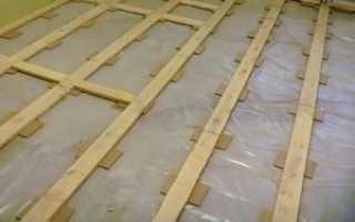Как выровнять старый деревянный пол под ламинат