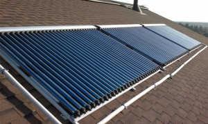 Солнечные водонагреватели и коллекторы с вакуумными трубками