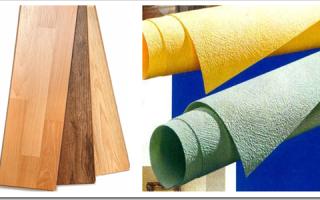Что сначала делают натяжной потолок или ламинат