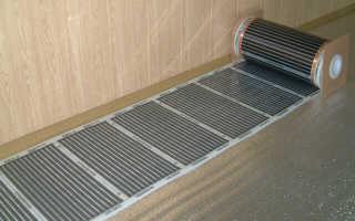Как укладывать пленочный теплый пол под ламинат
