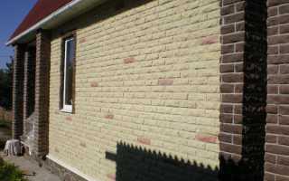 Облицовочные фасадные панели под кирпич