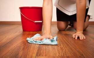 Как мыть ламинат без разводов