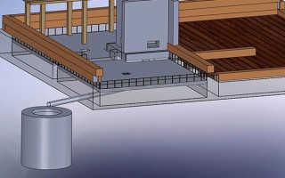 Как сделать слив в бане на даче