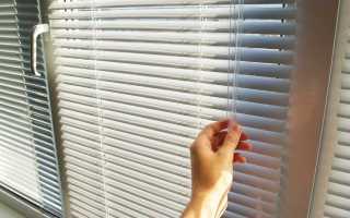 Как поставить жалюзи на пластиковые окна