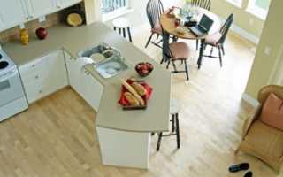 Какой ламинат положить на кухне