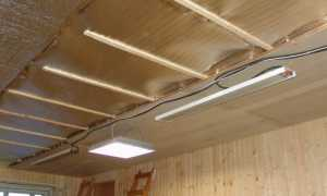 Как крепить пенофол к потолку