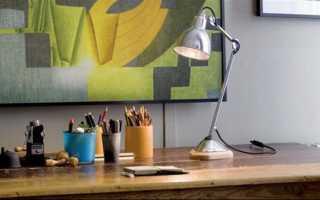 Как правильно выбрать настольную лампу для школьника