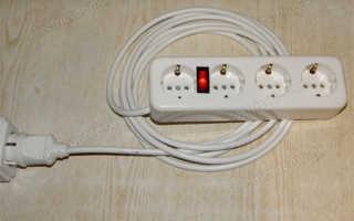 Как сделать переноску электрическую с лампочкой