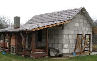 Можно ли строить баню из пеноблоков