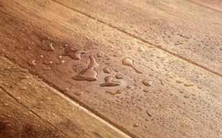 Как защитить ламинат от воды