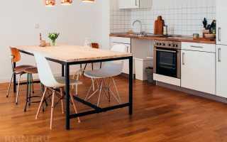 Как защитить ламинат на кухне