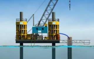 Можно ли заливать бетон в воду