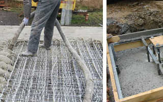 Сколько стоит залить куб бетона вручную
