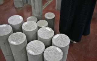 Как определить прочность бетона самостоятельно