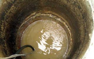 Почему из скважины идет вода с глиной