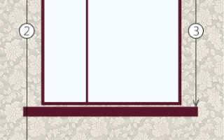 Как подобрать размер штор на окно