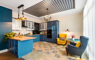 Какие можно сделать потолки в квартире