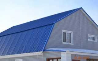 Как правильно крепить металлопрофиль на крыше