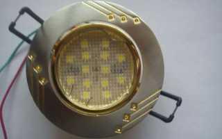 Как сделать точечные светильники в гипсокартоне