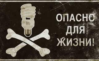 Экономные лампы вред или экономность