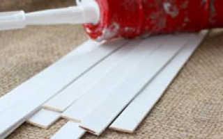 Как крепить панели пвх к гипсокартону