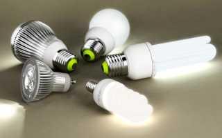 Какой газ в энергосберегающих лампах