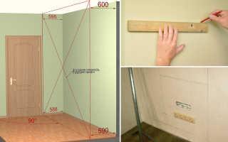 Как закрепить кухонные шкафы на гипсокартон