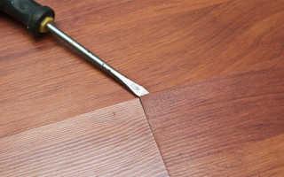 Как ремонтировать ламинат