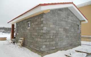 Можно ли построить баню из газобетона