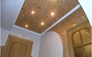 Пробковые панели для потолка