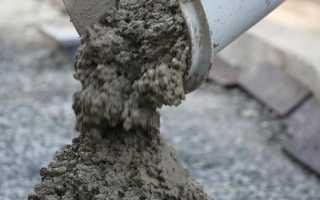 Как правильно замесить бетон пропорции