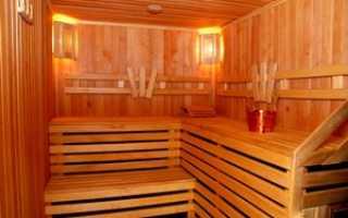 Как правильно обшить баню внутри
