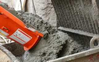 Сколько ведер в 1 кубе бетона
