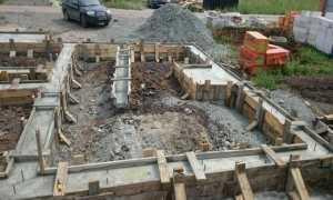 Когда лучше заливать фундамент под дом