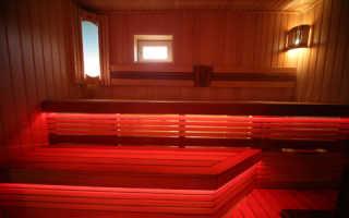 Можно ли использовать светодиодные лампы в бане