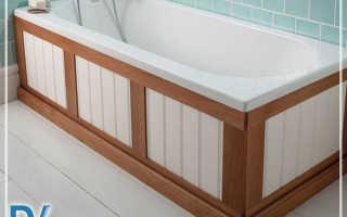 Как закрыть ванну снизу своими руками