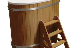 Купели для бани с подогревом