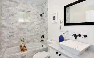 Ванна и туалет вместе как оформить