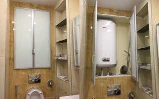 Как повесить водонагреватель в туалете