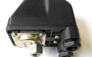 Как подключить скважинный насос и реле давления