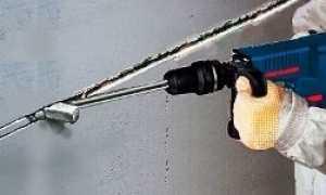 Как крепить кабель в штробе